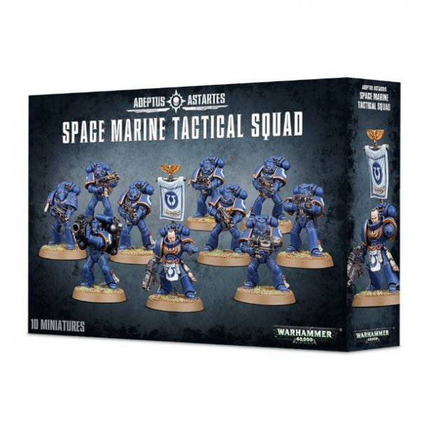 WARHAMMER - Space Marine Tactical Squad