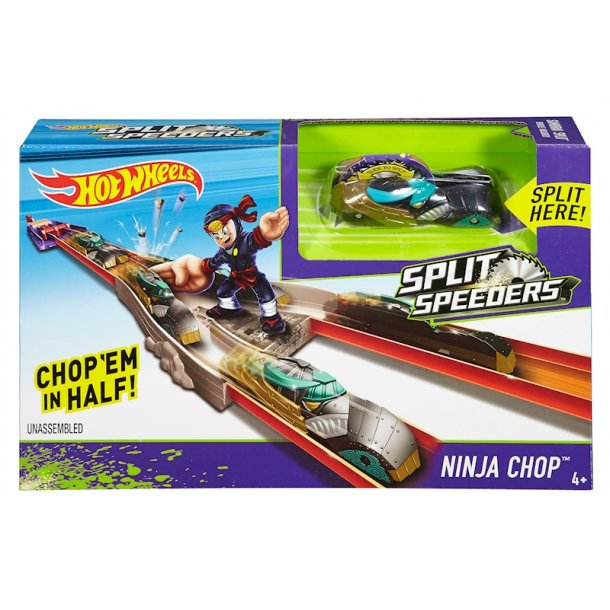 HOT WHEELS BILER - Split Speeders Ninja Chop